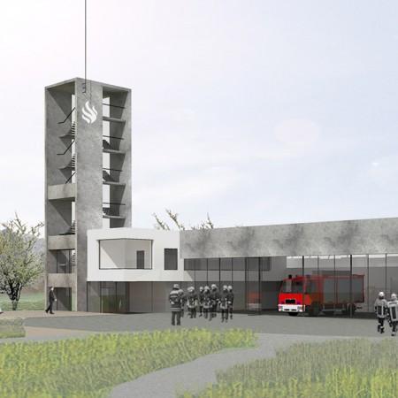 Feuerwehrhaus Oberderdingen - Energieberatung Gossner